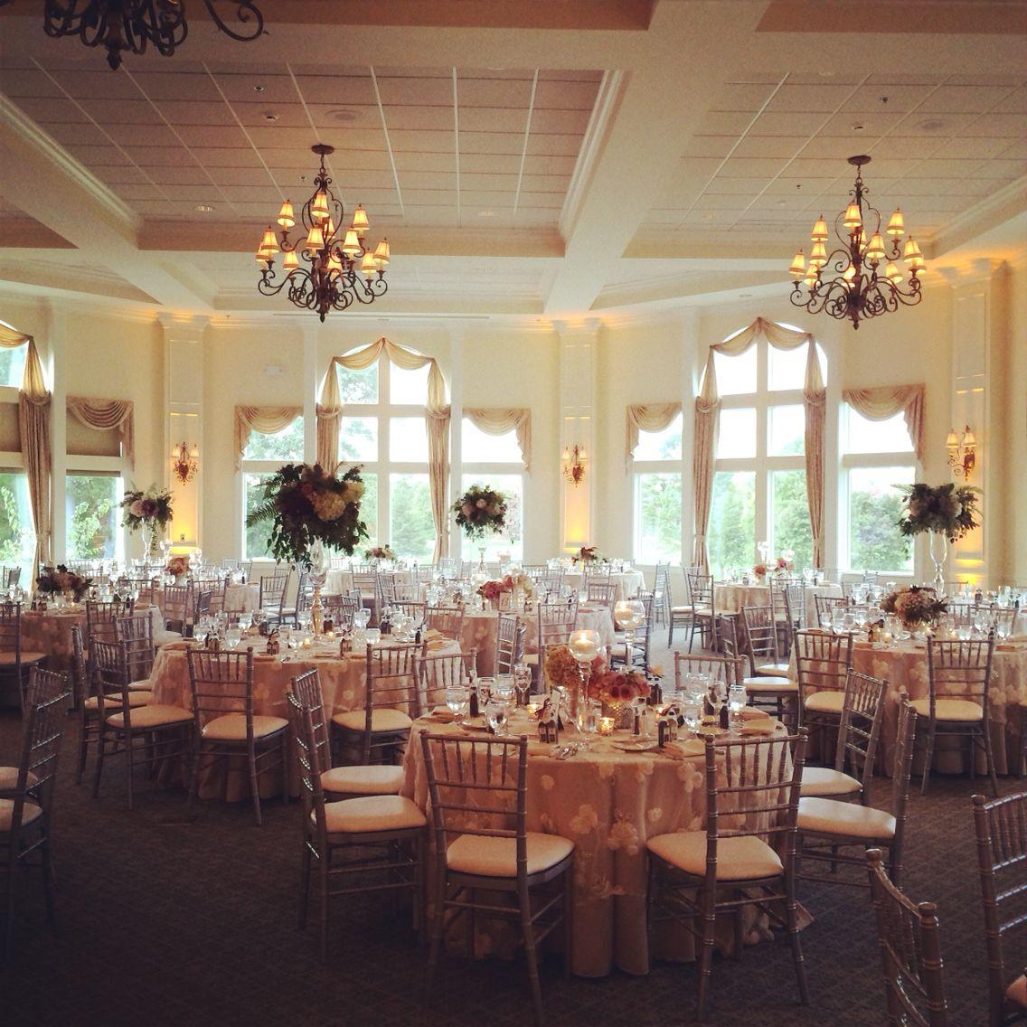 Country Wedding Reception Ideas: Irondequoit Country Club Ballroom