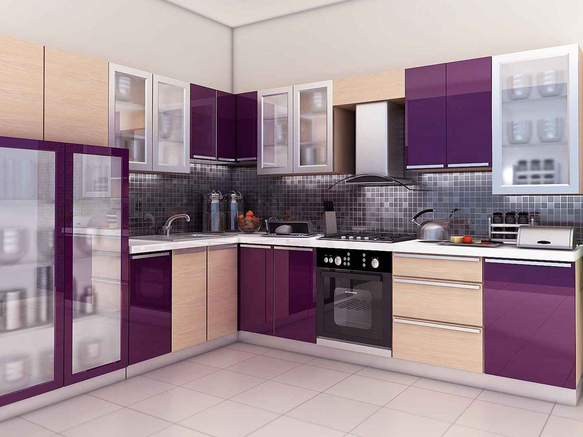 9 Kitchens With Unique Color Combinations   Modular kitchen ...
