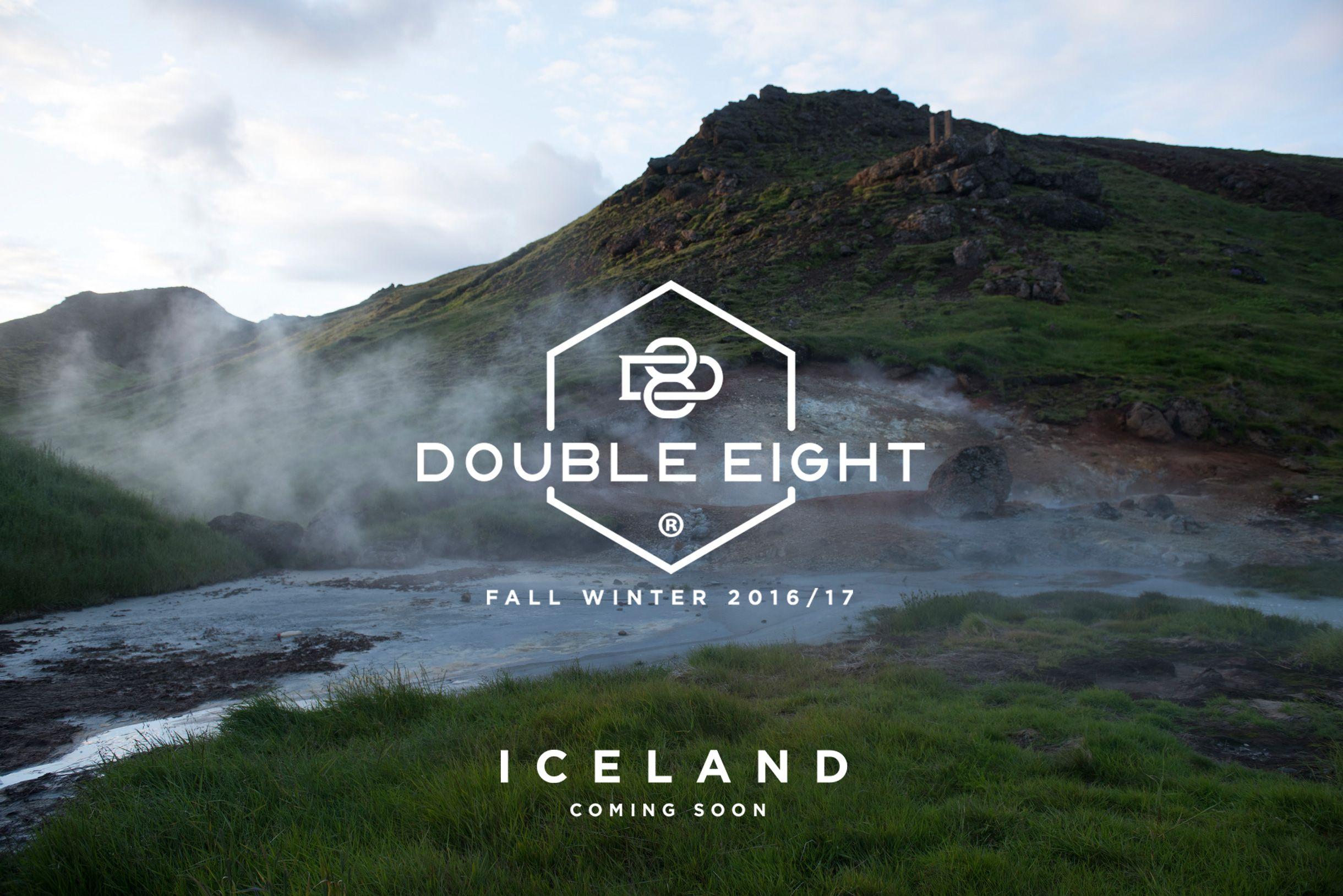 Fall/Winter 2016-2017...Iceland Stiamo arrivando con la nuova collezione Stay Tuned! #DoubleEight #D8 #D8Iceland
