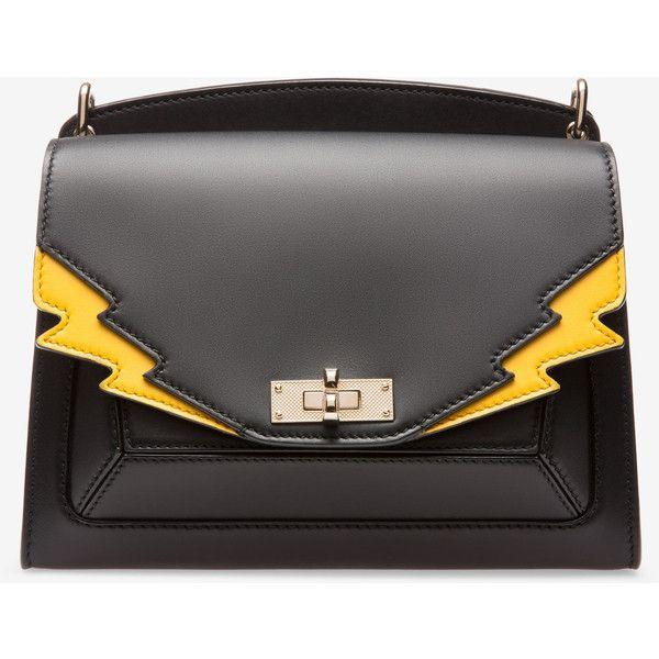 Suzy Medium Black, Womens calf leather shoulder bag in black Bally