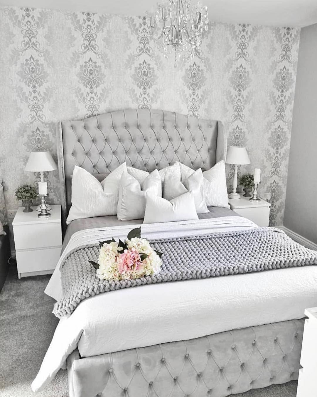 "Home Decor Inspiration on Instagram: ""Beautiful bedroom"