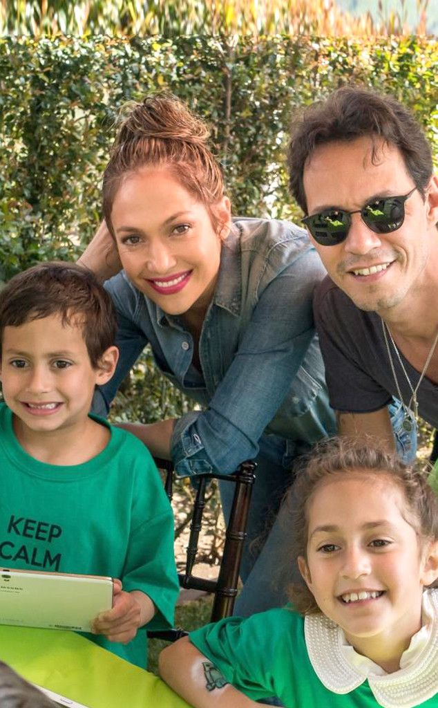 J Lo And Marc Anthony Reunite For Their Twins Birthday Party Jennifer Lopez Family Jennifer Lopez Birthday Jennifer Lopez Marc Anthony