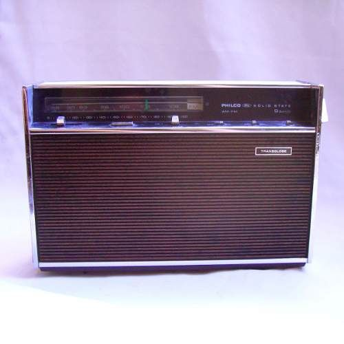 Radio Antigo Philco Transglobe Funcionando R 240 00 Radio