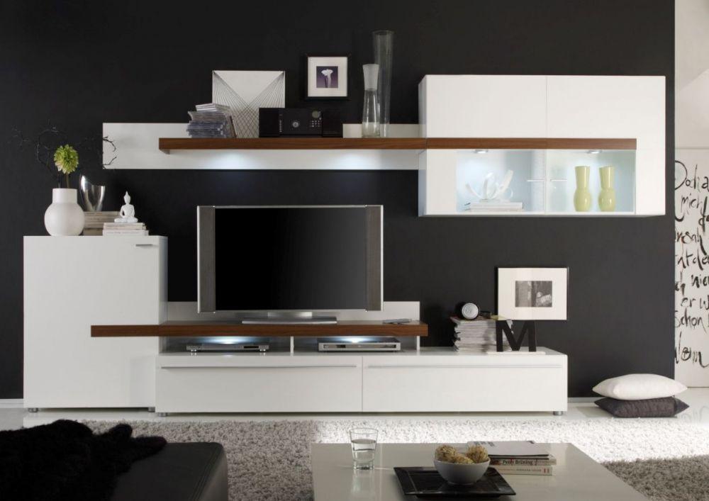 wohnwand guenstig gartenm bel 2017. Black Bedroom Furniture Sets. Home Design Ideas