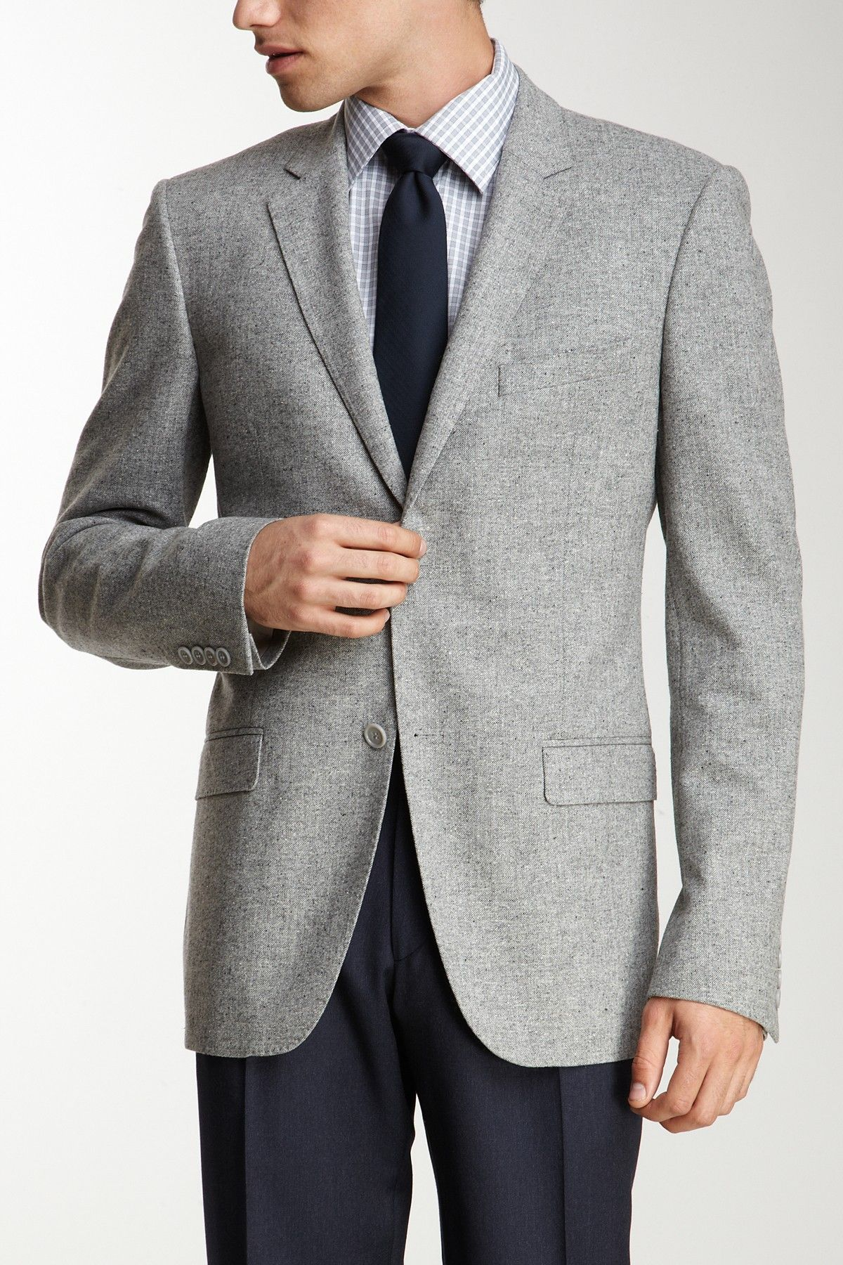 Calvin Klein Light Grey Blazer// | Sessions looks! | Pinterest