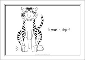 The Tiger Who Came to Tea colouring sheets (SB10138