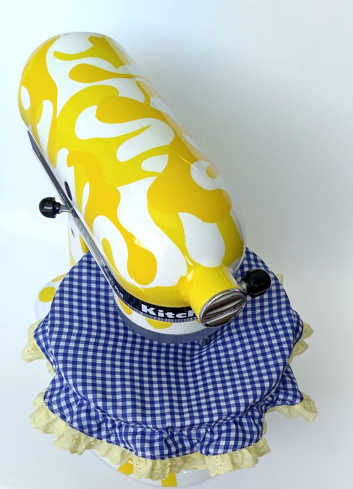 Kitchenaid mixer bowl cover from catysclocksandthings on