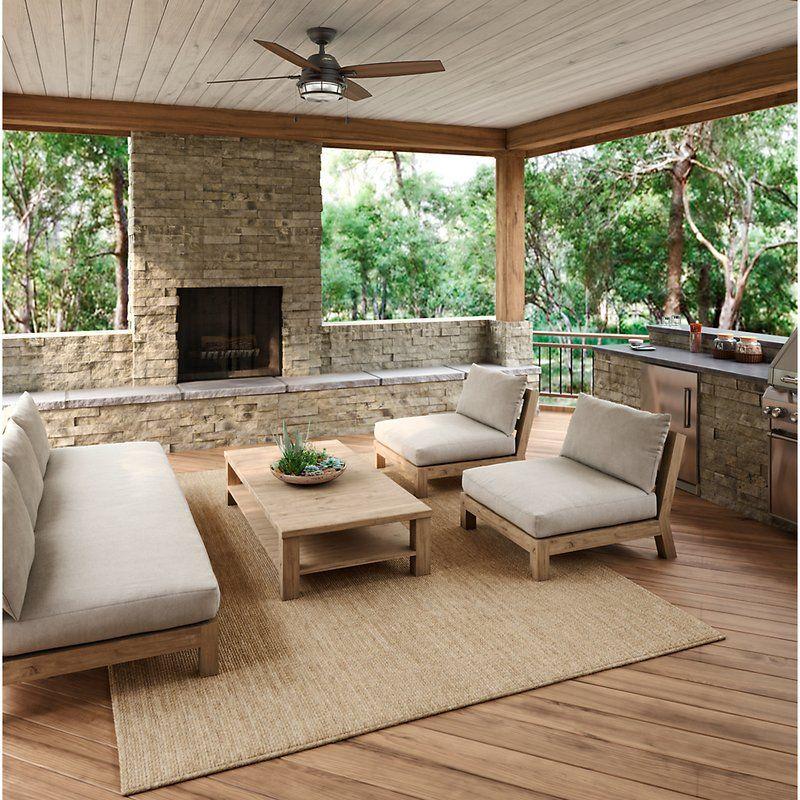52 Ocala 4 Blade Ceiling Fan Patio Design Outdoor Kitchen