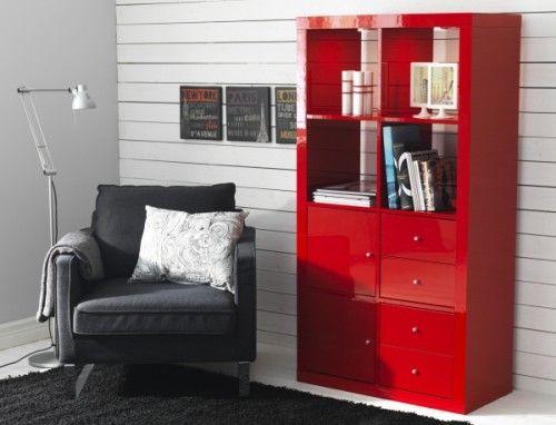 L Etagere Ikea Kallax Avec 8 Casiers Living Room Furniture Sofas Furniture Home Decor