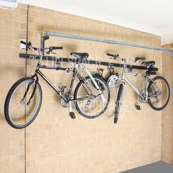 rubbermaid fasttrack bike hanger