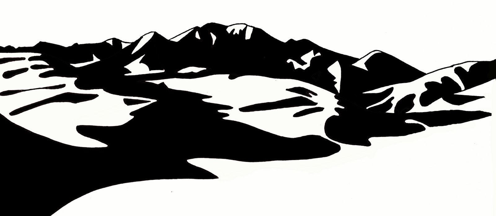 Original design logo for Great Sand Dunes National Park in