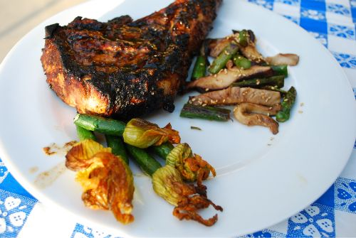 Chipotle Tamarind Veal Chops