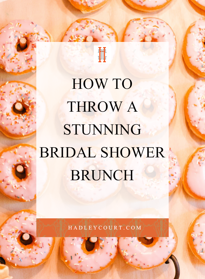 Stunning Inspiration and Ideas For Your Bridal Shower Brunch