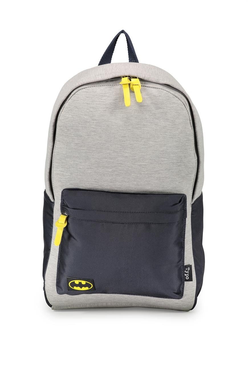 Batman backpack - gift ideas - gifts for guys Keep your caped crusaders  outfit neatly tucked 53c3b095aedf9