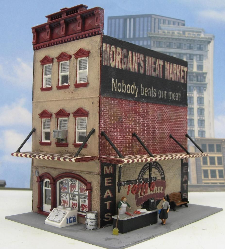 Sold Structures | Tiny Towns & More | Model trains, Model ...