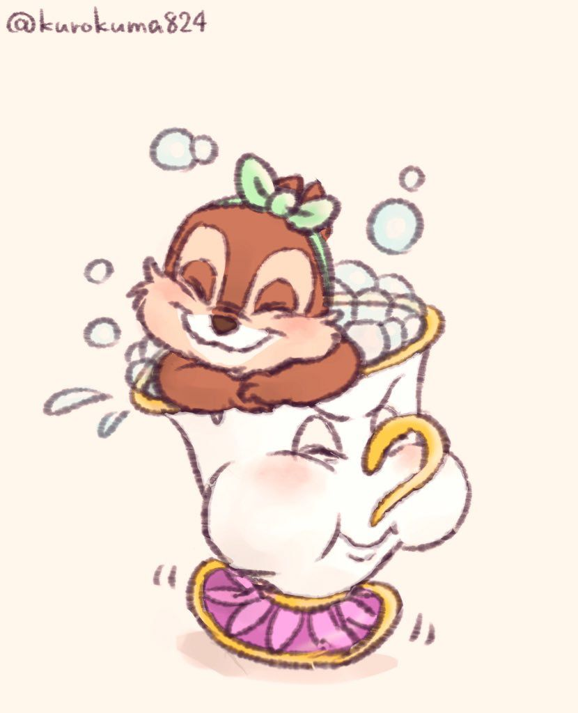 chip the chipmunk and chip is flounder. | ディズニー | pinterest