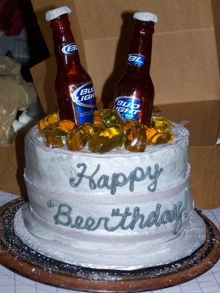 Terrific Pin Happy Beer Thday Birthday Cakes Cake On Pinterest Con Personalised Birthday Cards Epsylily Jamesorg