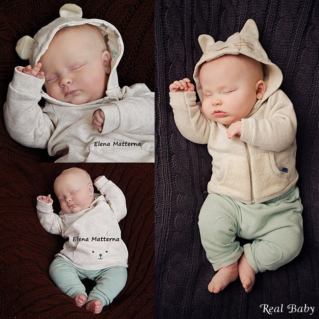 "Doe Suede Body for 18-19/"" Reborn Doll Kit ~ Full Arms and Full Legs"