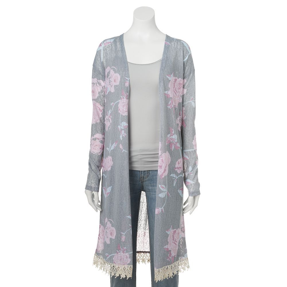 d887df0b9842c3 Floral Kimono from Kohl s