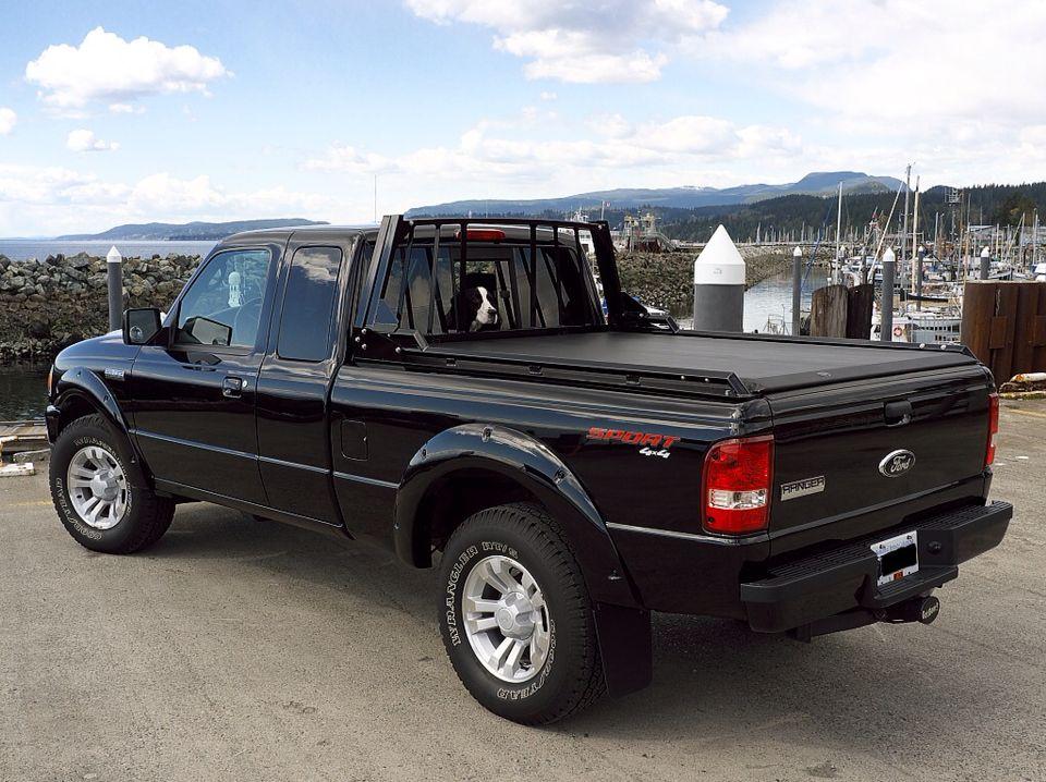 I love the back rack on this ranger My Dream Ford Ranger