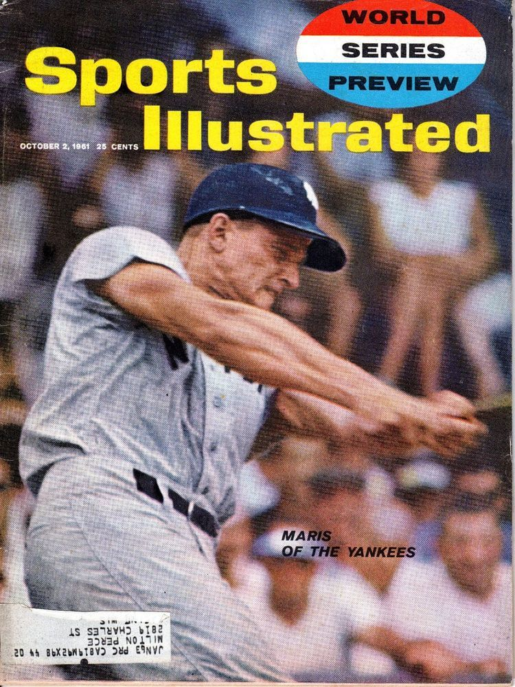 1961 (Oct.2) Sports Illustrated magazine, Baseball, Roger