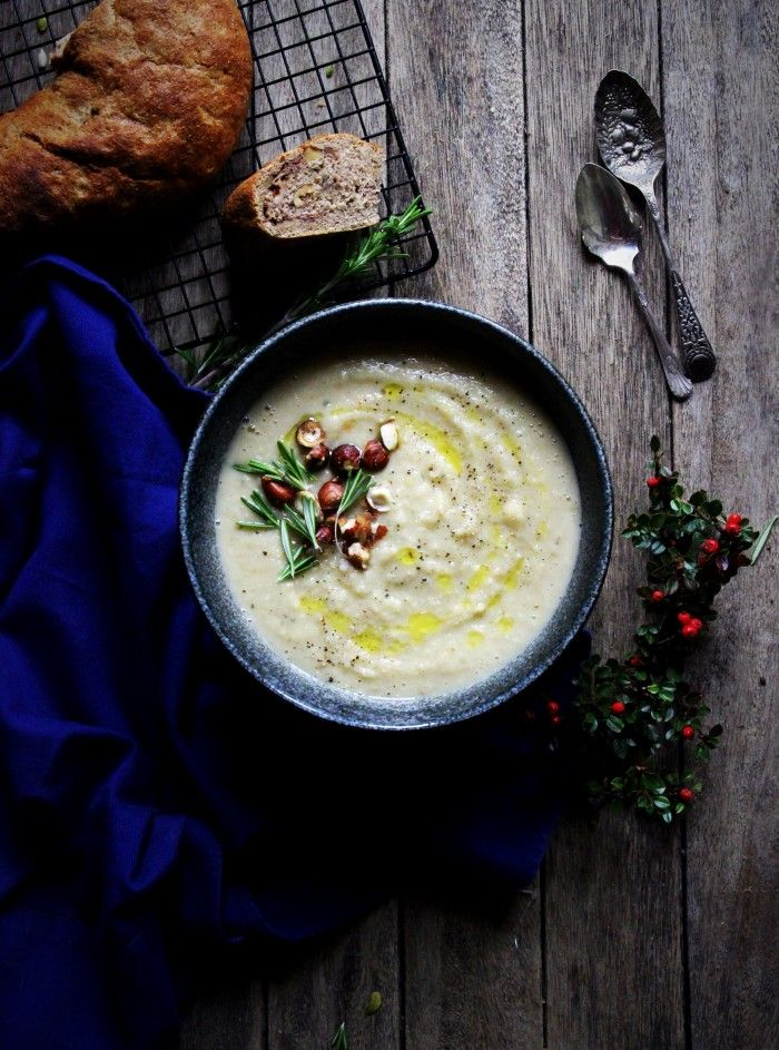 Creamy Parsnip and Rosemary Soup