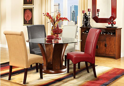 Shop For A Flair Red 5 Pc Dining Room At Rooms To Gofind Dining Mesmerizing Rooms To Go Dining Sets 2018