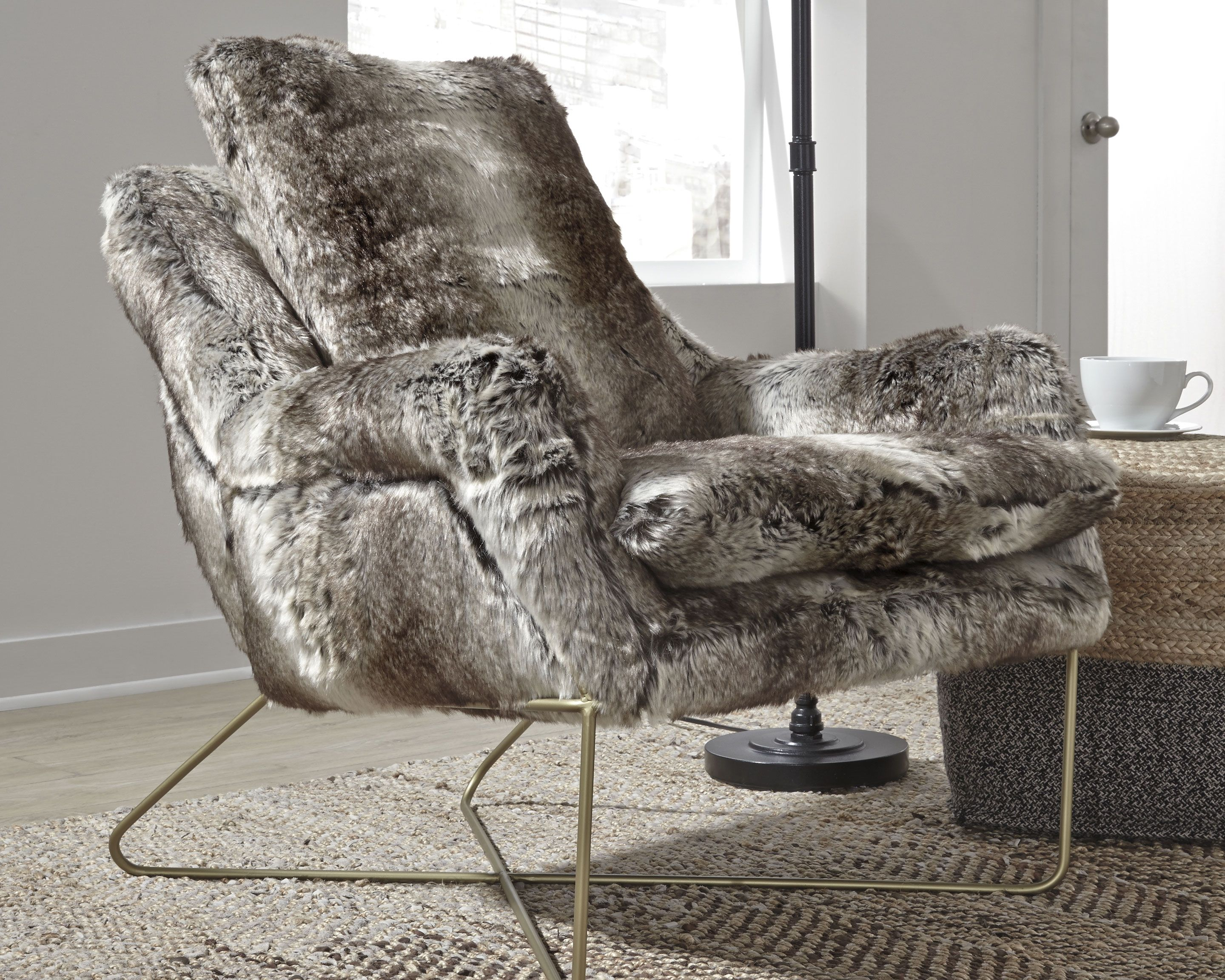 Wildau Accent Chair Gray In 2020 Accent Chairs Rustic Living