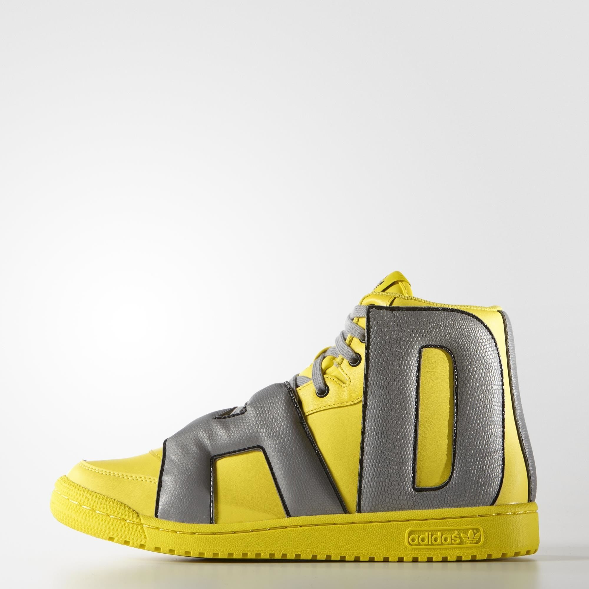 Adidas Buty Letters Reflective Zolty Adidas Poland Reflective Shoes Yellow Adidas Shoes