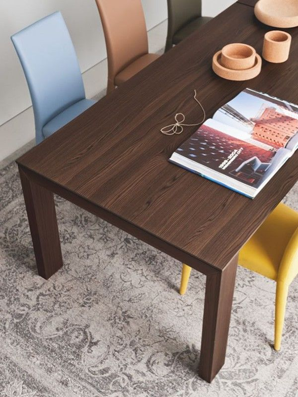 Tavolo Sigma Wood Calligaris.Sigma Model Table With Wooden Frame And Large Rectangular