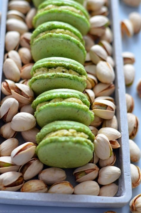 Photo of Pistachio Macarons with Pistachio Butter Cream