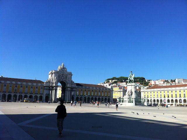 Praça do Comércio, Lisbon- Portugal