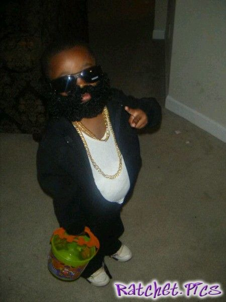 rick ross little kid halloween costume funny ghetto pictures