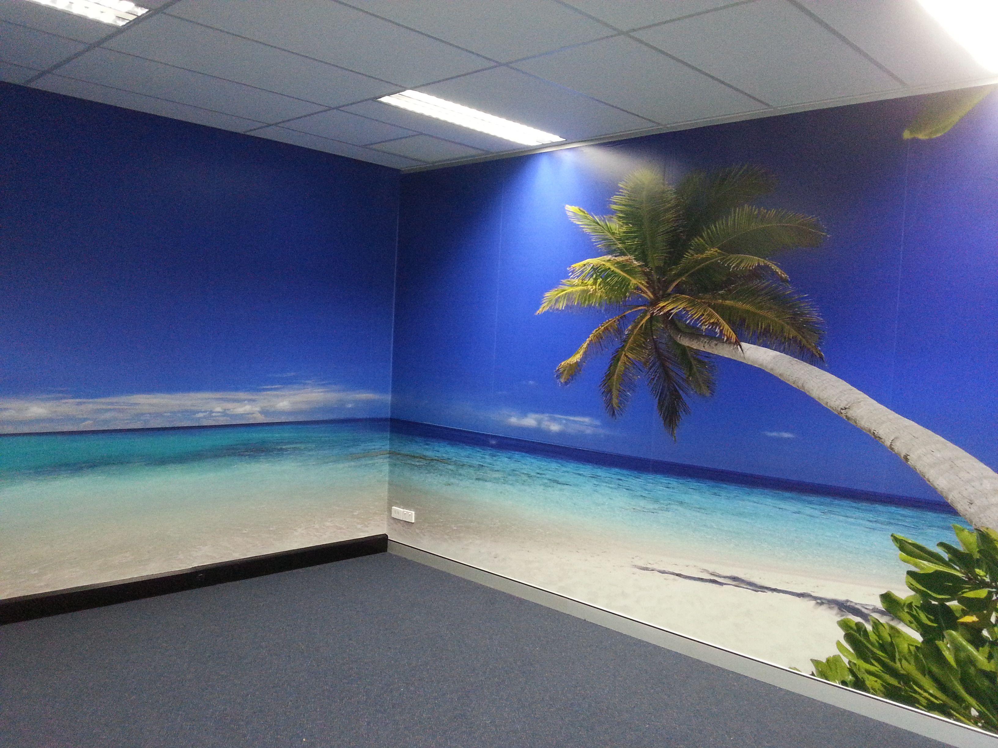 Beach scene wall mural stunning wall murals supplied installed beach scene wall mural amipublicfo Images