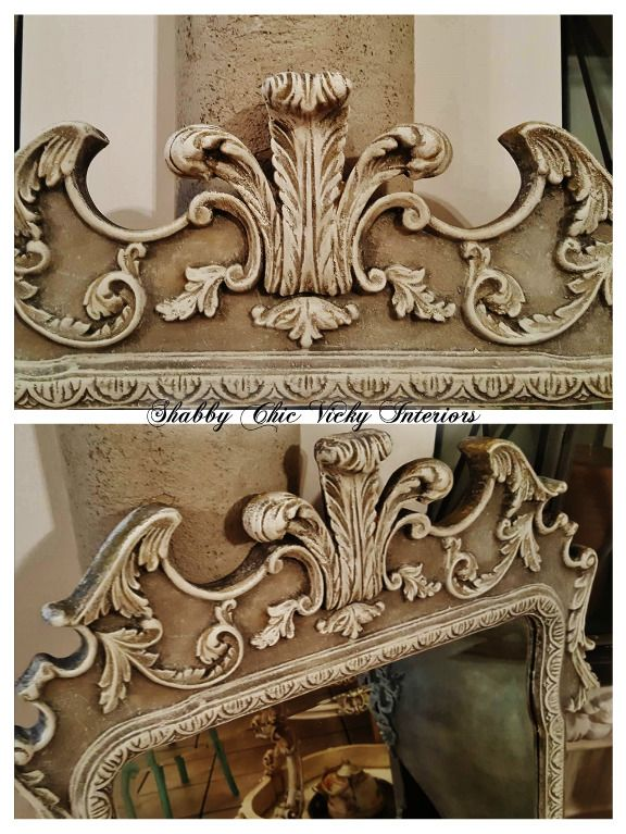 Restyling Specchio Shabby Chic Vicky Interiors | Shabby Chic Vicky ...