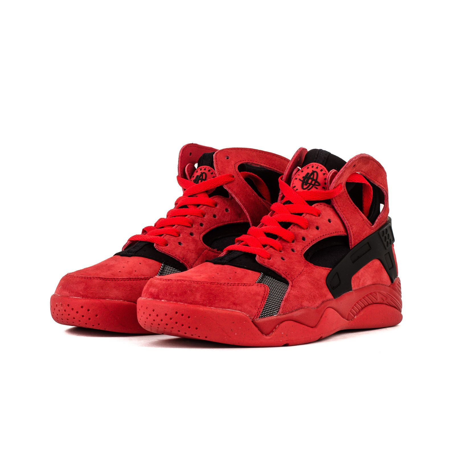 405c50b5033 Men s Nike Air Flight Huarache Love Hate Yeezy QS Basketball Red 705005 600