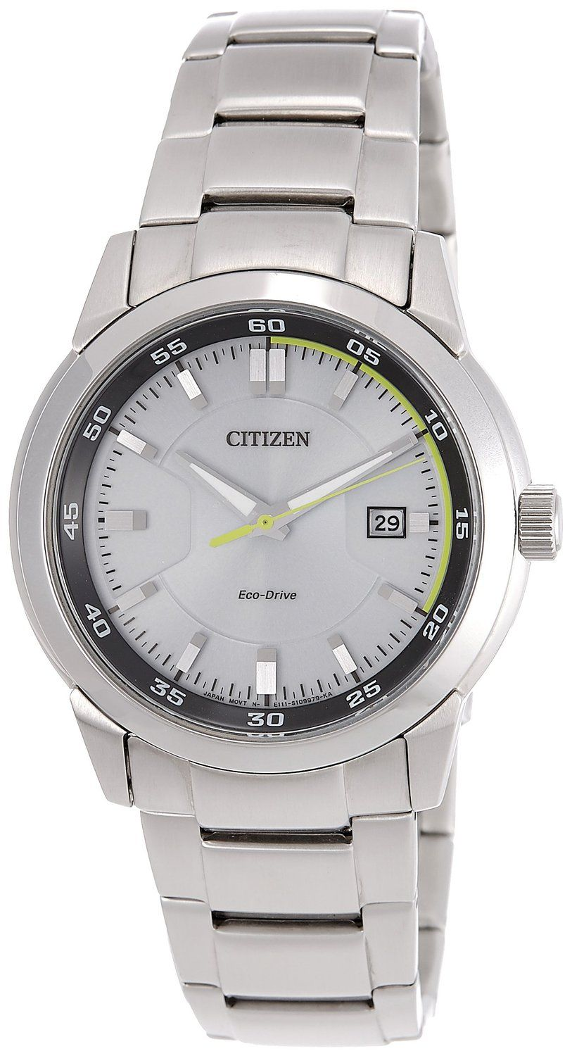 d4a5a3ed381 Buy Citizen Eco-Drive Analog White Dial Men s Watch - BM7140-54A Online at  Low Prices in India - Amazon.in
