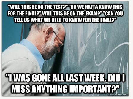 Funny Memes For College Students : Sad professor vs frustrated professor battle of the memes