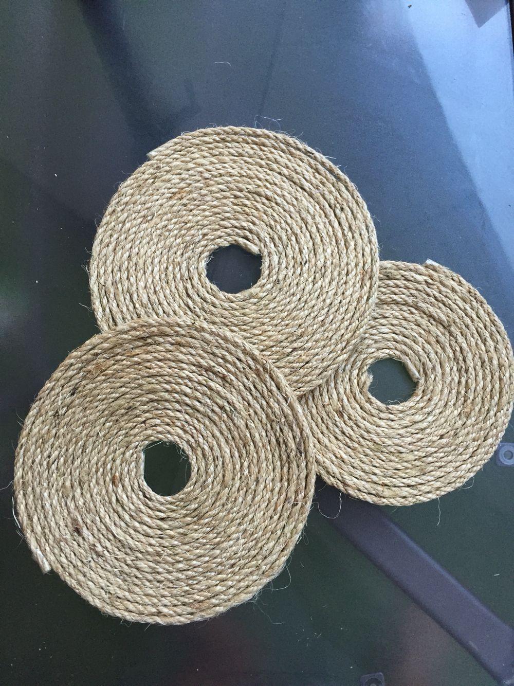 Hemp string tablecloth