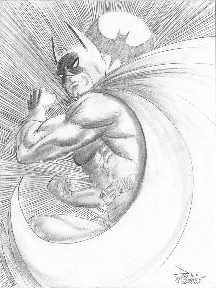 Pencil sketch for the club batman exhibition in maraga spain