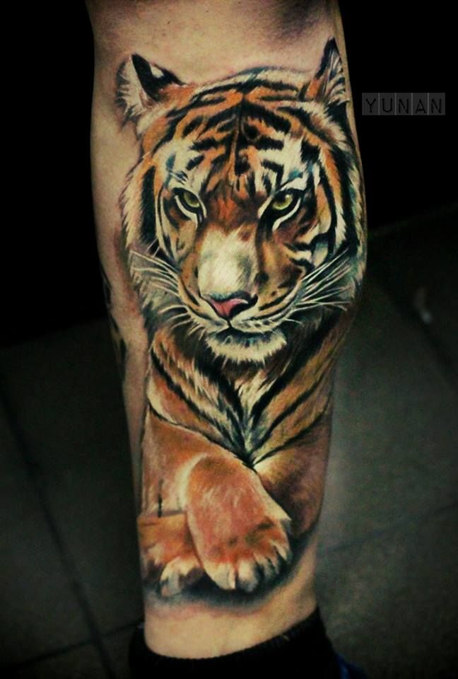 Tiger Tattoo 7