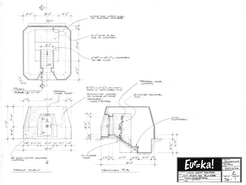 interior design of house of future from eureka tv series digsdigs - Cylinder Home Floor Plans