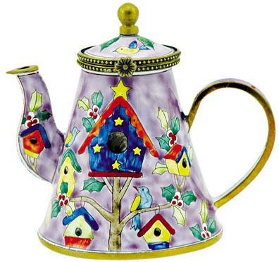 Attractive Kelvin Chen Collection Includes Wonderful Miniature Enamel Teapots With A  Wide Range Of Designs. Great Pictures