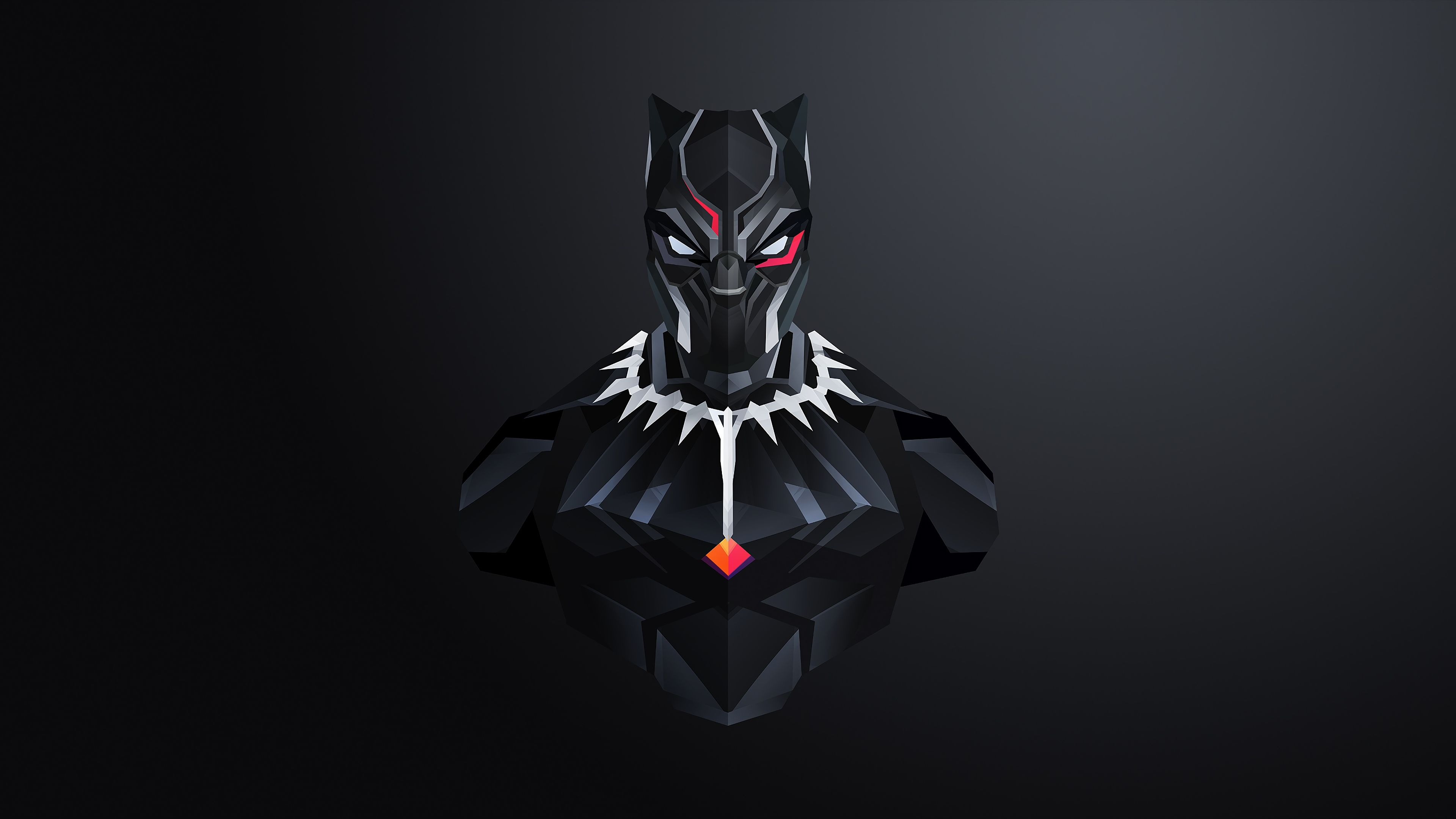 Black Panther Abstract Wallpaper