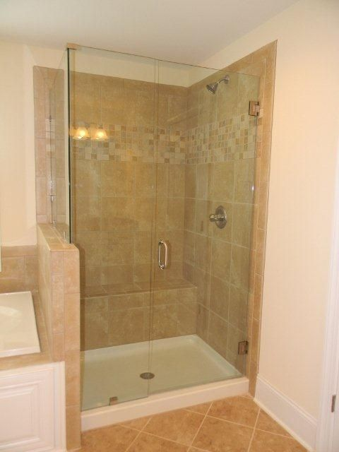 Porcelain Or Ceramic Tile For Shower Essex Homes Frameless Shower Door #essexhomes | Ceramic