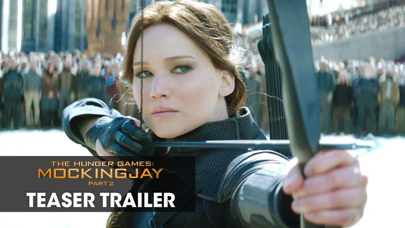 Mockingjay+Movie+Trailer | Hunger Games 4 Mockingjay Part 2 Movie trailer : Teaser Trailer