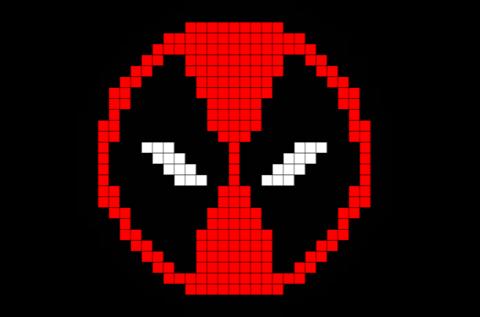 Deadpool Pixel Art Art 8 Bit Art