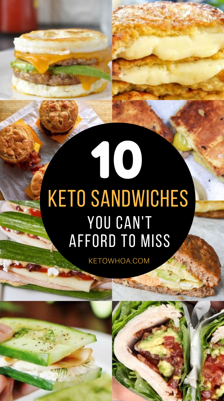 10 Best Low Carb Keto Sandwich Recipes You Can't Afford to Miss images