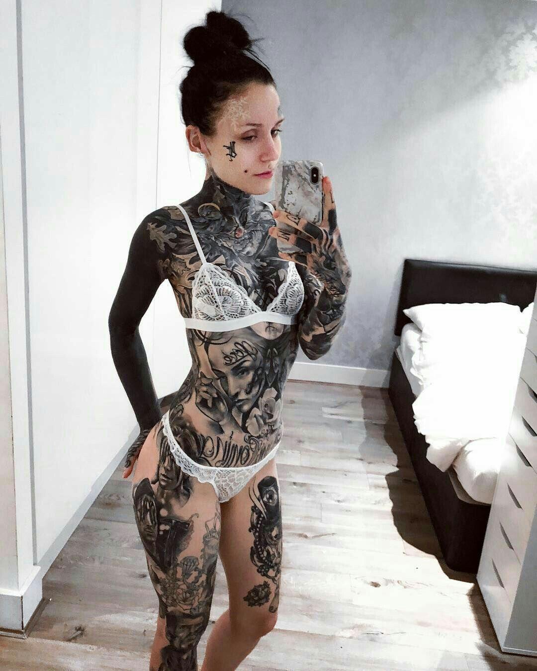 Image result for full body tattoo women