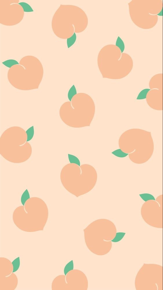 Peachy Foundonweheartit Iphonebackground Phonebackground Iphonewallpaper Wallpaper Phoneaccessorie Peach Wallpaper Wallpaper Iphone Cute Kawaii Wallpaper